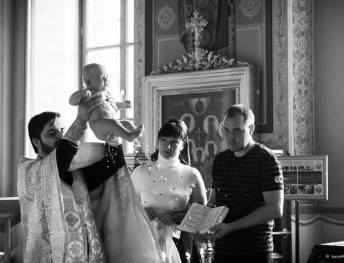 Very hard shooting of christening
