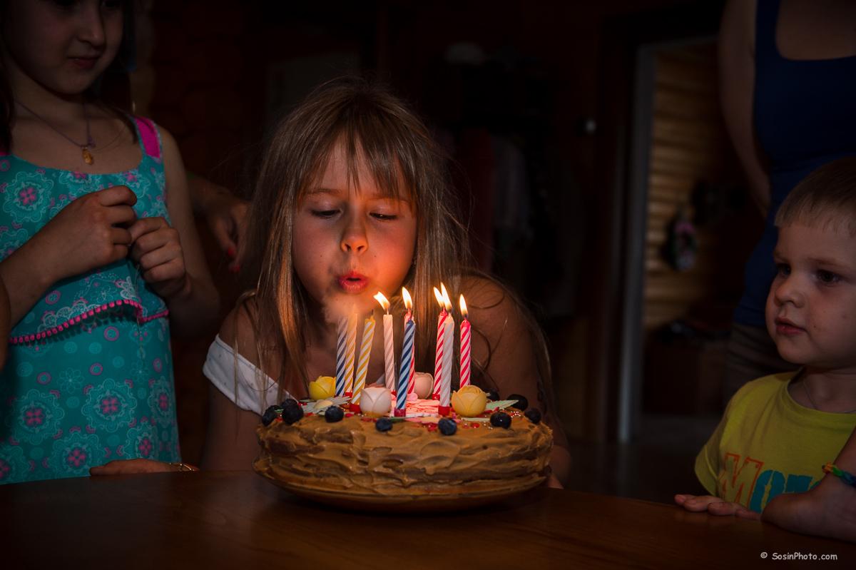 Alyona's birthday.
