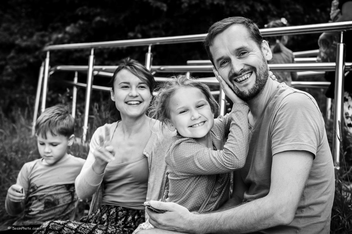 Семейная фотосессия в парке Фили